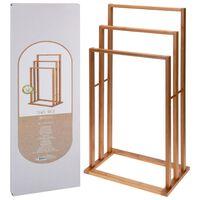 Bathroom Solutions Suport de prosoape cu 3 bare, bambus