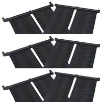 vidaXL Panou încălzitor solar pentru piscină, 6 buc., 80x310 cm