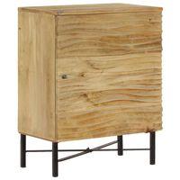 vidaXL Servantă, 60x35x75 cm, lemn masiv de mango