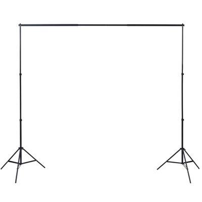 vidaXL Set studio foto cu lumini softbox, fundal și reflector