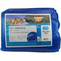 Summer Fun Prelată piscină solară de vară albastru 700x350 cm PE oval