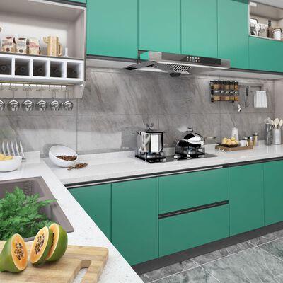 vidaXL Folie de mobilier autoadezivă, turcoaz, 500 x 90 cm, PVC
