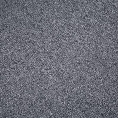 vidaXL Fotoliu, gri închis, material textil