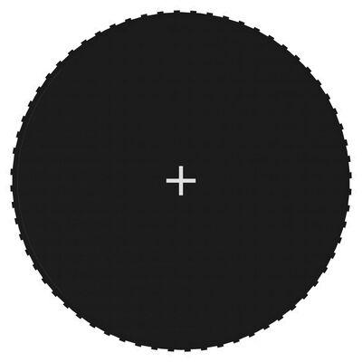 vidaXL Podea din țesătură pentru trambulină rotundă de 3,66 m, negru