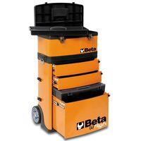 """Beta Tools Trusă de scule pe roți """"C41H/O"""", portocaliu, 041000002"""