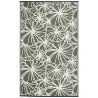 Esschert Design Covor de exterior, 241 x 152 cm, model floral, OC21