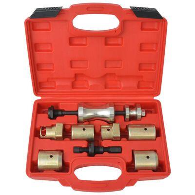 vidaXL Set de extragere a brațelor ștergătorului de parbriz, opt piese