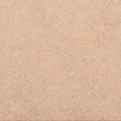 vidaXL Plăci din MDF, 10 buc., pătrate, 60 x 60 cm, 2,5 mm