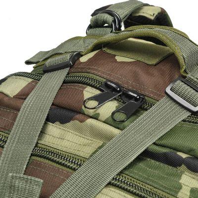 vidaXL Rucsac în stil militar, 50 L, model camuflaj