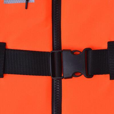 vidaXL Veste de salvare, 4 buc., 100 N, 70-90 kg
