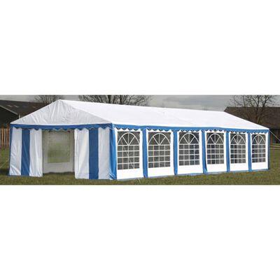 vidaXL Cort de petrecere, albastru, 12 x 6 m