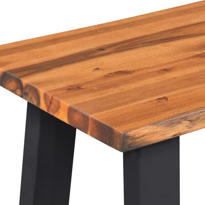 vidaXL Bancă din lemn masiv de acacia, 160 cm