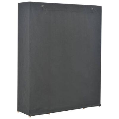 vidaXL Șifonier, gri, 135 x 40 x 170 cm, material textil
