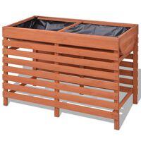 vidaXL Plantator din lemn 100 x 50 x 71 cm