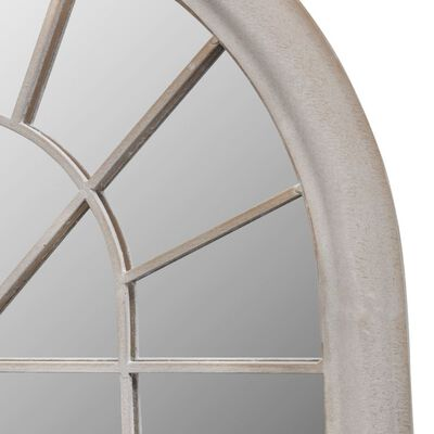 vidaXL Oglindă de grădină arcadă rustică 60x116 cm interior & exterior