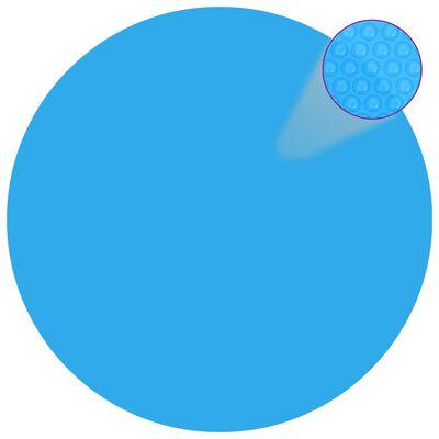 vidaXL Prelată de piscină, albastru, 210 cm, PE