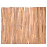 vidaXL Gard din bambus, 100 x 400 cm