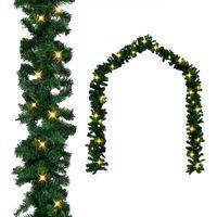 vidaXL Ghirlandă de Crăciun cu becuri LED, 5 m