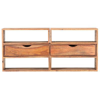 vidaXL Comodă TV, 160 x 30 x 45 cm, lemn masiv de sheesham