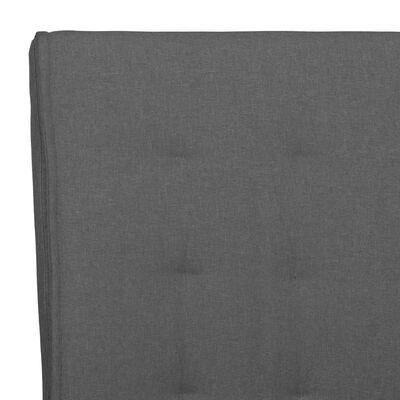 vidaXL Scaune de bucătărie consolă, 2 buc., gri închis, textil