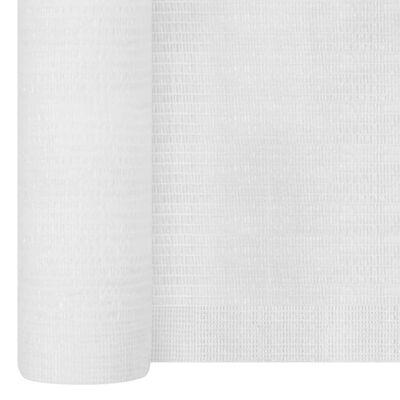 vidaXL Plasă protecție intimitate, alb, 1,5x50 m, HDPE, 150 g/m²