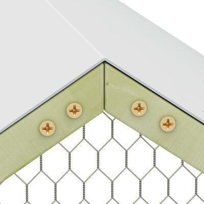 vidaXL Coteț pentru păsări, 6 x 1,5 x 2 m, lemn de pin tratat