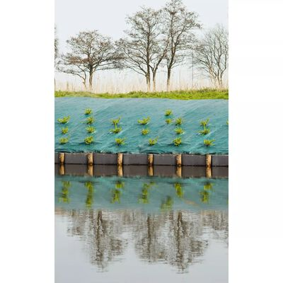 Nature Folie antiburuieni pentru sol, verde, 4,2x5 m