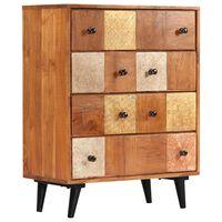 vidaXL Scrin, 60 x 30 x 75 cm, lemn masiv de acacia