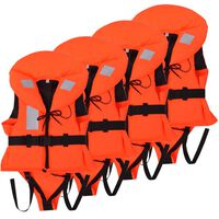 vidaXL Veste de salvare pentru copii, 4 buc., 100 N, 10-20 kg