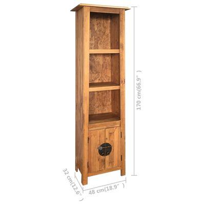 vidaXL Dulap de baie, lemn masiv de pin reciclat 48x32x170 cm