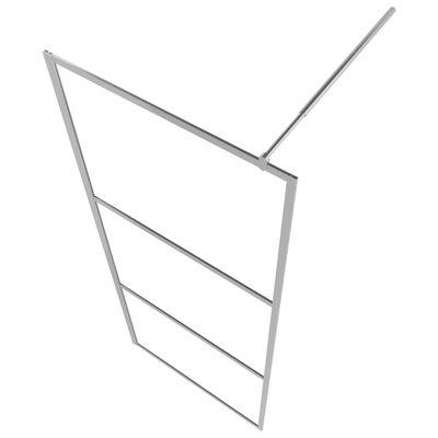 vidaXL Paravan de duș walk-in, 115 x 195 cm, sticlă ESG mată