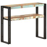 vidaXL Masă consolă, 90x30x75 cm, lemn masiv reciclat