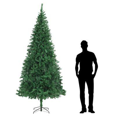 vidaXL Brad de Crăciun artificial, verde, 300 cm