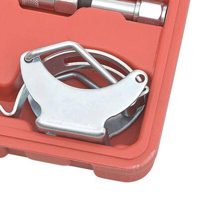 vidaXL Kit accesorii de lubrifiere, 11 piese