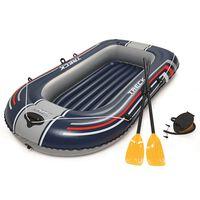 Bestway Barcă gonflabilă Hydro-Force cu pompă și vâsle albastru, 61083