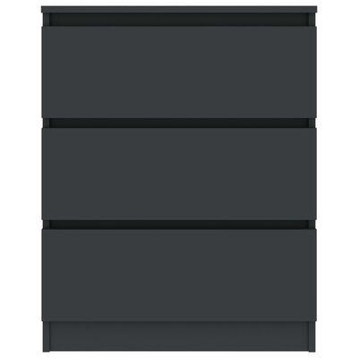 vidaXL Servantă, gri, 60 x 33,5 x 76 cm, PAL