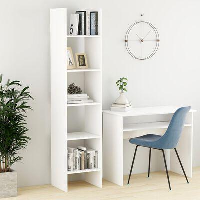 vidaXL Bibliotecă, alb, 40x35x180 cm, PAL