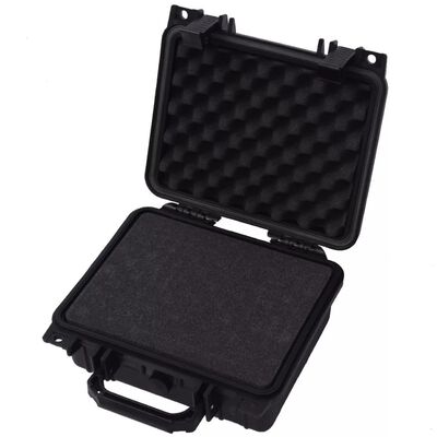 vidaXL Valiză de protecție echipamente, 27 x 24,6 x 12,4 cm, negru