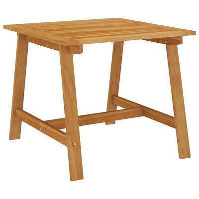 vidaXL Set de masă pentru grădină, 3 piese, gri închis