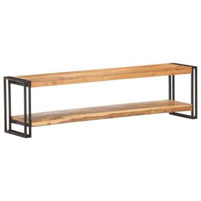 vidaXL Comodă TV, 150 x 30 x 40 cm, lemn masiv de acacia