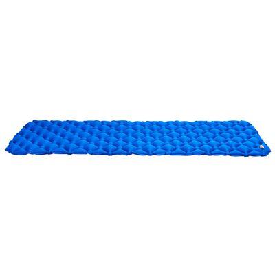 vidaXL Saltea gonflabilă, albastru, 58x190 cm