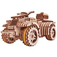 Wood Trick Kit machetă de ATV, lemn
