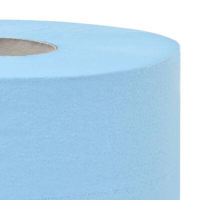 vidaXL Prosoape de hârtie de uz industrial, 3 straturi, 4 role, 26 cm