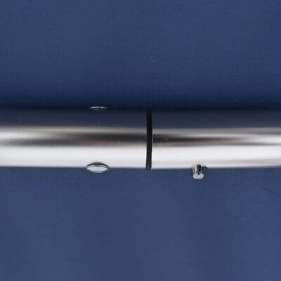 vidaXL Parasolar barcă Bimini 3 arcuri, albastru, 183x180x137 cm