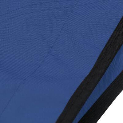 vidaXL Parasolar barcă Bimini 4 arcuri, albastru, 243x180x137 cm
