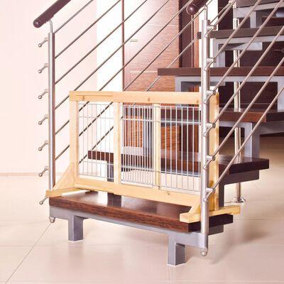 TRIXIE Barieră pentru câini, 65-108 cm, lemn de pin, 3944,
