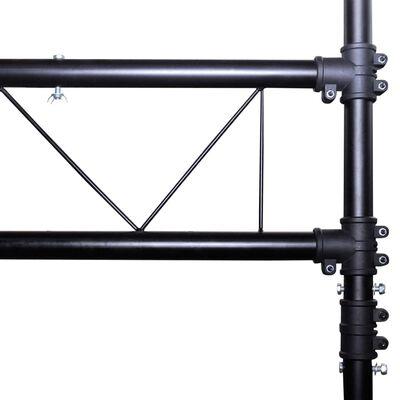 vidaXL Sistem portabil de iluminat, tip grindă cu 2 trepiede, 3 m