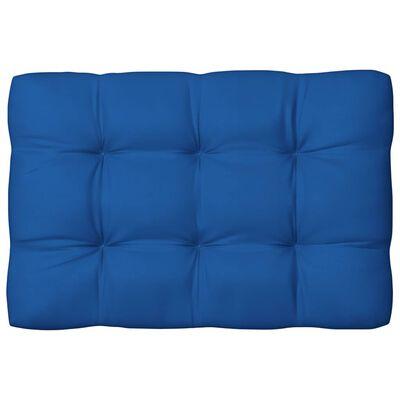vidaXL Perne pentru canapea din paleți, 3 buc., albastru regal