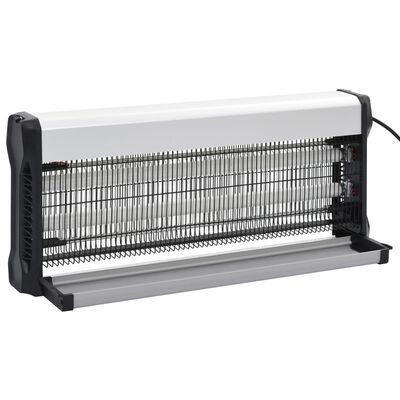 vidaXL Aparat anti-insecte, negru, aluminiu ABS, 40 W