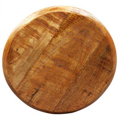 vidaXL Scaune de bar, 2 buc., lemn masiv de mango